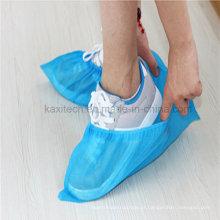Plástico descartável PP / PE / CPE sobre a tampa da sapata