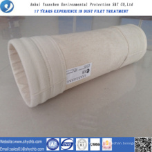 Bolso de colector de polvo del bolso de filtro de aire de Aramid HEPA para la industria