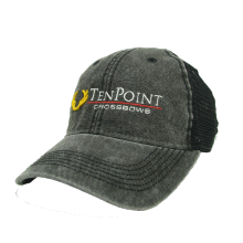 TENPOINT - BLACK EMBROIDERAT HAT
