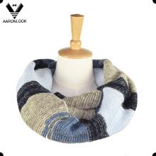 2016 Горячий продавая Ombre связало шарф snood полосы