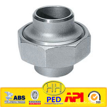 ANSI B31.1 stainless steel 316 socket union