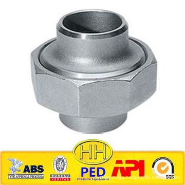 ANSI B31.1 stainless steel 316 socket union