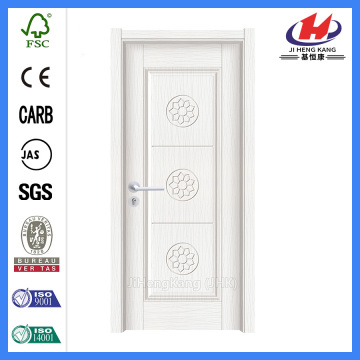 JHK-P15 white plastic coated hollow core interior door