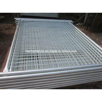48mm Od. Heavy Duty Galvanized Temp Fencing Panel