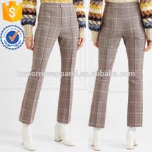 Шерсть-смесь тонкий брюки Производство Оптовая продажа женской одежды (TA3011P)