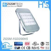 Venda quente 2016 Novo Design 200 W Alta Lumen LED Luz de Inundação Ao Ar Livre com IP66