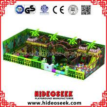 Equipamento interno do campo de jogos da área do jogo das crianças do tema da selva para a venda