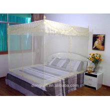 Insecticida rectangular 100% poliéster Mosquitera colgante tratada con encaje
