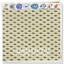 YD-1005, tissu sandwich, 100% polyester, chaussures, tissu en maille d'air