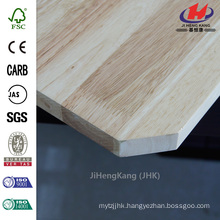 96 in x 48 in x 2/5 in Low Price Solid Grade AB Rubber Wood Butt Joint Board