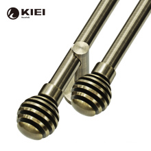 KYOK 2021 varies of shapes  contracted style anti brass curtain rod