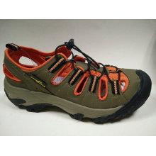 Neuer Entwurf schnüren sich oben Art- und Weisesport-Sandelholz-Schuhe