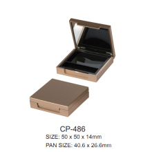 Square Plastic Compact Case Cp-486
