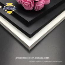 Feuille en plastique imperméable de PVC de mousse de PVC de JINBAO pour le coffret de cuisine