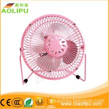 colourful 360 degrees metal material Small Electric Fans for Sale