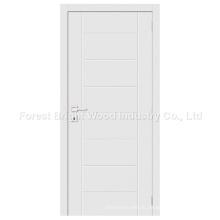 Heißer Verkauf moderne weiße hölzerne Flush Panel Tür