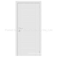 Hot Sale Modern White Wooden Flush Panel Door
