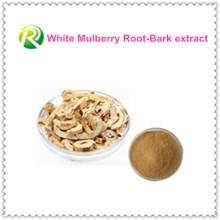 Fornecimento de fábrica de venda quente diretamente 100% branco Mulberry raiz-casca extrato