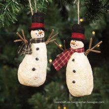 Regalos de muñeco de nieve colgantes, decoración colgante de Navidad para regalo