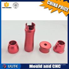 Minimizar las mini piezas de metal de la máquina de perforación del cnc
