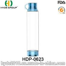 Venda quente de plástico portátil Tritan garrafa de água (HDP-0623)