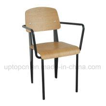 Moderno apilable Starbucks Bentwood comedor sillón (SP-BC337)