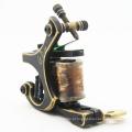 2015 mais recente tatuagem máquinas CNC bem esculpido o injetor de máquina de tatuagem bronze MBC01 Shader com 10 bobinas de cobre vendem máquinas de tatuagem