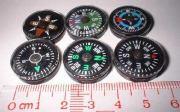 Unique No Bubble Design Mini Compass