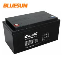 Bateria acidificada ao chumbo VRLA de Bluesun 12v 150ah bateria de 12 volts