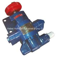 Pompe à engrenages à déplacement positif approuvée CE KCB55