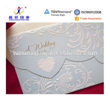 Nice concave-convex wedding pocket envelopes,paper packaging for gift