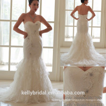 2017 bridal sweetheart neckline beading lace the latest mermaid wedding dresses