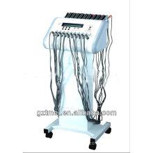 2 en 1 stimulation musculaire électrique de vague russe et machine à amincir le corps infrarouge lointain