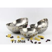 Stainless Steel Antiskid Rice Bowl (FT-3508)