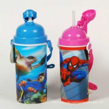3D Lenticular Water Drinking Bottle for Kids