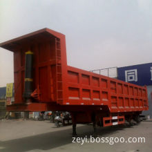 Back/Rear Dump Semi-trailer with Fuwa Axle and Steel Chassis