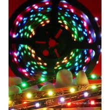 Wasserdichter RGB Flexibler Streifen mit Chasing (30LEDs / M)