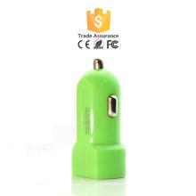 5.Cheap Atacado Colorido Dual USB Car Charger para iphone Promocionais personalizado mini Universal USB Car Charger