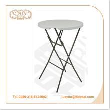 Atacado dobrável de plástico portátil HDPE dobrável / mesa de festa