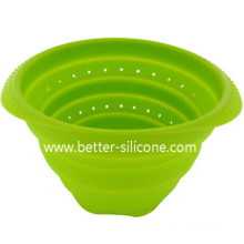 Food Grade Collapsible Silicone Rubber Colander