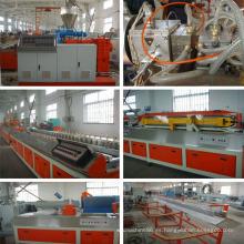 Máquina extrusora de plástico de madera PE / PVC con CE e ISO