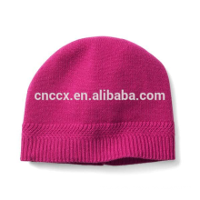 PK17ST039 China supplier Chevron-Rib Cashmere Winter Hat