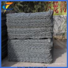 Bwg22 Malla de alambre galvanizada sumergida caliente de Gabion