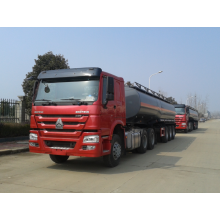 Fast Delivery for Chemcial Tanker Trailer 3 axle 30000 liters sulfuric acid tanker supply to Iceland Factories
