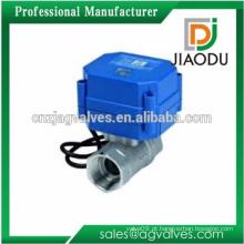 1 ou 2 ou 3 ou 4 polegadas venda quente CW614N e CW617N latão rápida abertura e fechamento válvula motorizada