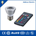 Remote Control 5W COB GU10 LED Spotlight Bulb