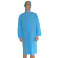 Light Blue Pvc Rain Coat