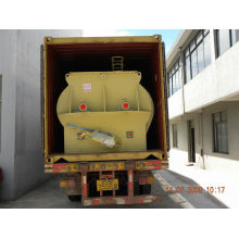 2000 Kg/p Double Shaft Paddle Feed Mixing Equipment With Maintenance Easy Slhsj4.0