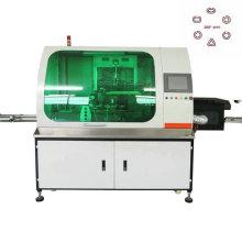 Impresora automática de la máquina de serigrafía de la botella del hexágono