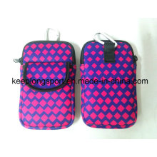 Promotional Customized Insulated Neoprene Case for Wallet and Camera